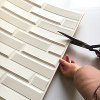 Korean style PE foam 3d wallpapers, DIY brick wall paper thumbnail image