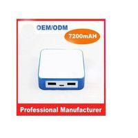 PB7200  Dual USB Hot sale 7200mAH universal portable power bank for ipad thumbnail image