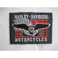Harley Pacthes Eagles Patterm Embroideried