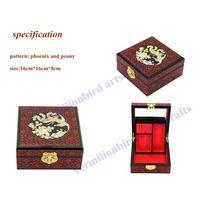 jewelry box, wedding gift, craft. hand made craft,elegant jewerly box