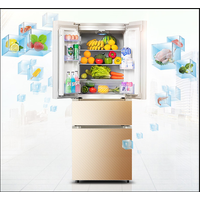 580L Cheap Big Capacity Home and Fridge Frost Free Side By Side French Door Refrigerators