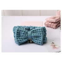 Bow Hair Band,Soft Waffg hairband for women and girls thumbnail image