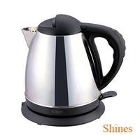 CE 1.5L fast boil 360 degree rotating electric stainless steel kettle cordless ergonomic handle - Se