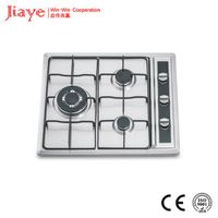 gas stove with SS panel