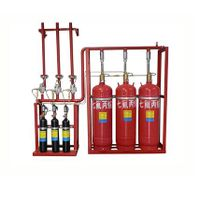Pipe network heptafluoropropane(HFC-227ea) fire extinguishing device