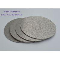 High filter precision sintered porous titanium filter elements thumbnail image