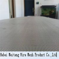 Aluminum plate mesh used in the making of arts and crafts