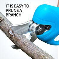 Electric cordless tree branch pruning shear thumbnail image