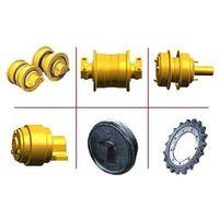 excavator track rollers .bottom roller ,down roller for hitachi ,caterpillar ,kato ,daewoo ,etc thumbnail image