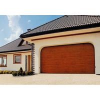 automatic remote control sectional garage door