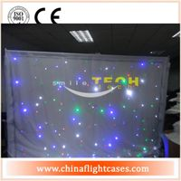 LED Lighting Star Curtain Backdrop