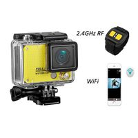New SJ4000 1080p 60fps Wrist remote control WiFi action camera