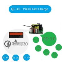 PCBA Circuit Board for USB Charger USB C Charger Wall Charger Adapter 2 Port USB Quick Charge 30W Mo thumbnail image