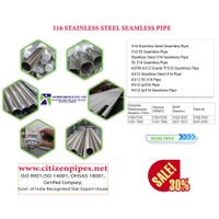 316 stainless steel Seamless Pipe thumbnail image