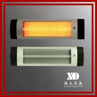 Energy saving infrared quartz heater in home appliance