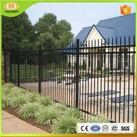ISO9001 Wholesale Steel Fence and Metal Fence Panels