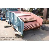 "USED ""FURUKAWA"" 1500MM X 3600MM (5' X 12') VIBRATING GRIZZLY FEEDER S/NO. 300 thumbnail image"