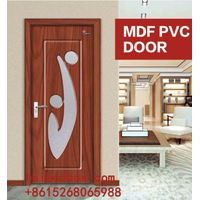 Wholesale chep price mdf pvc wood wooden internal doors(HB-009)