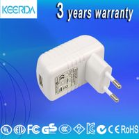 6W travel charger adapter 5V1A switching power micro USB wall charger