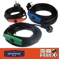 Antifreeze water pipe heating cable