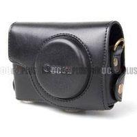 For Canon Powershot S90 Pro Leather Case (Black) thumbnail image