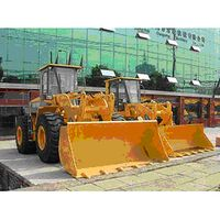 Wheel loader machine