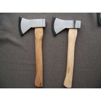 600g Carbon Steel Hand Working Axe with Hickory Handle (XL-0135) thumbnail image