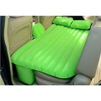 Holiday travel inflatable flocked travel car air mattress bed