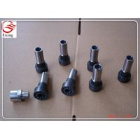 Black metal Injection Molding Screw /cnc maching spinning parts china supplier