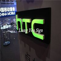 Exhibition Popular Acrylic customized 3d lighted letters