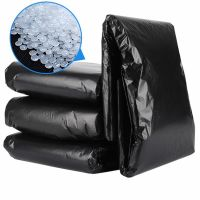 Black garbage plastic bag 33 gallon trash bag thick garbage bags