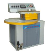 Semi-automatic three die-head centrifugal spin casting machine