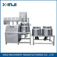 Cosmeitc cream lotion vacuum emulsifying mixer