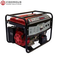 Max Output 8KW Powerful Single Phase Gasoline Generator