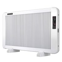 Electric 1500W Radiactor Space heater, Portable Slim Stayle Convection Panel heater with Wall-Mount