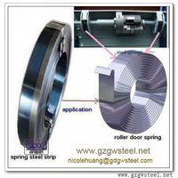 rolling door band spring steel strip
