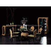 water hyacinth dining set ( WADI-053)