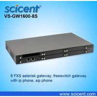 8 FXS asterisk gateway, freeswitch gateway with ip phone, sip phone