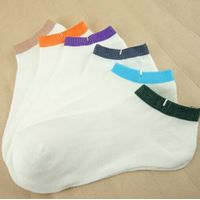 Wholesale Men's Mesh Low Cut Cotton Socks