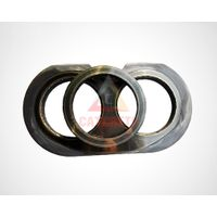 Zoomlion Concrete Pump Spectacle Wear Plate Wear Ring Cutting Ring DN200 DN230 DN260 thumbnail image