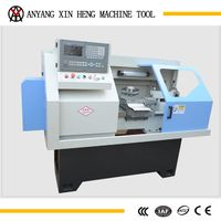 horizontal cnc mini lathe for metal processing