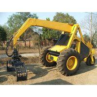 3 wheel sugar cane loader