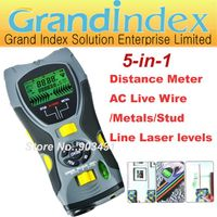 multifunction gauge SK109A:Distance Meter/ AC Live Wire/Metals/Stud Detector/Line Laser Levels,5-in- thumbnail image
