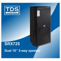 SRX725-Dual 15inch Ceiling Sound System-Powerful Loudspeaker for Nightclub Installation