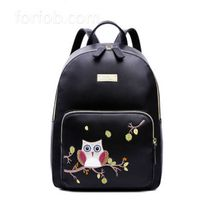 Mini Custom Designer Women Pu Leather Fashion Backpack Bag