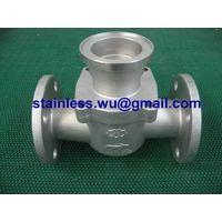 stainless steel water flow meter body