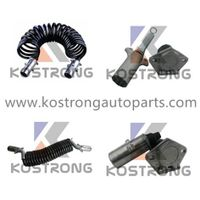 Electrical Cable Suzi Coil For Heavy Duty Trailer thumbnail image