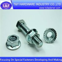 Standard Part Hex Flange Nut