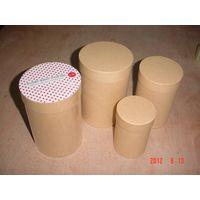 round kraft paper box