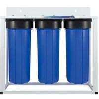 3 Stage Big Blue water filter systems with filter cartridge
